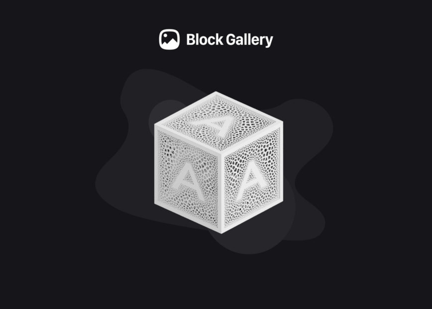 Block Gallery, Winner at the Automattic Design Awards