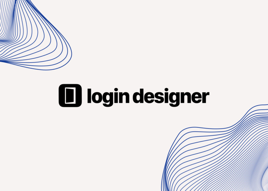 A new look for the Login Designer website